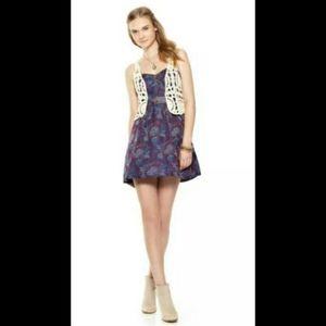 Free People Purple Tapestry Dress